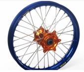 ROUE ARRIERE HANN WEELS Jante Bleue / Moyeu Orange 250 SX-F 2013-2014 roue jante