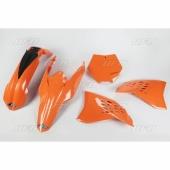 kits plastique ufo origine KTM 125 SX 2009-2010  kit plastiques ufo