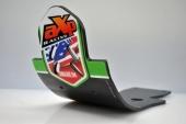 Semelle Mx Axp Phd Noire Anaheim Style KAWASAKI  450 KX-F 2009-2015 sabots axp