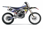 kit deco complet flu desings ROCKSTAR YAMAHA RACING TEAM  250 YZ-F 2014-2015 kit deco