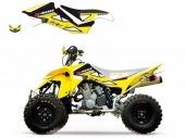 Kit Deco Blackbird Dream Graphic 2 Jaune SUZUKI 400 LTZ 2003-2010 kit deco quad