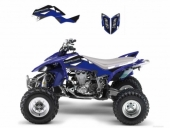 Kit Deco Blackbird Dream Graphic 2 Yamaha  YFM660R  RAPTOR  2001-2005 kit deco quad