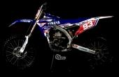 KIT DECO 2D RACING REPLICA DUMONTIER 250 YZ-F 1998-2015 kit deco