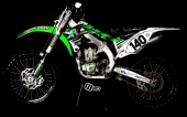KIT DECO 2D RACING REPLICA VALADE 125 KX 1992-2008 kit deco