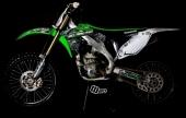 KIT DECO 2D RACING TRASH  250 KLX 2008-2012 kit deco