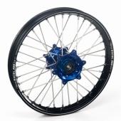 ROUE ARRIERE 16 MOYEUX HANN WEELS BLEU CERCLE EXEL NOIR HUSQVARNA TC 85 grande roue 2014-2016