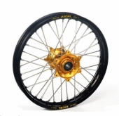ROUE ARRIERE 16 MOYEUX HANN WEELS OR CERCLE EXEL NOIR SUZUKI 85 RM GRANDE ROUE 2002-2016 roues completes