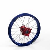 ROUE ARRIERE 19 MOYEUX HANN WEELS ROUGE CERCLE EXEL BLEU YAMAHA  125 YZ 1999-2016 roues completes