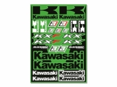 KIT AUTOCOLLANTS UNIVERSEL BLACKBIRD KAWASAKI planche auto collants