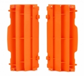 Cache Radiateur Polisport Orange Ktm 125 et + EXC/EXC-F 2008-2015 cache radiateur