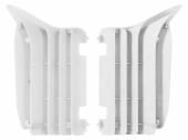 Cache Radiateur Polisport Blanc Yamaha 450 YZ-F 2010-2013 cache radiateur