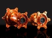 MOYEUX ROUE AVANT ZETA ORANGE 125 a 505 SX/SX-F 2008-2015 moyeux de roue