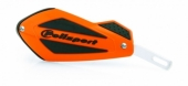 Protège-Mains Universels Polisport Shield Orange Avec Renfort Alu protege main