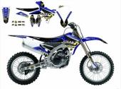 Kit Deco Complet Blackbird Replica Arma Energy Yamaha 250 YZ-F  2003-2009 kit deco