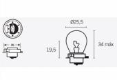 Ampoules S3 6V-15W ampoules