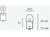 Ampoules R5 12V-5W ampoules