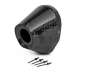 EMBOUT CARBONE PRO CIRCUIT TI5/TI6 114mm/38.1mm embout échappements