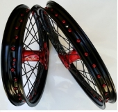 ROUE COMPLETE KITE ROUGE 450 RM-Z 2005-2015 roues completes