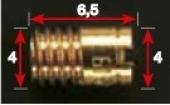 GICLEURS DE RALENTI MIKUNI MKF DE 80 A 127.5 gicleurs mikuni