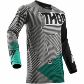 MAILLOT CROSS KID THOR PULSE GEOTEC BLACK/TEAL 2018 maillot pantalon kids