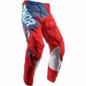 PANTALON CROSS KID THOR PULSE GEOTEC ROUGE/LEU 2018 maillot pantalon kids