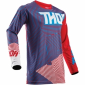MAILLOT THOR PULSE AKTIV BLUE/BLACK 2017 maillot pantalon kids
