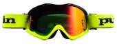 LUNETTES PULL -IN FIGHTER NOIR JAUNE FLUO lunettes