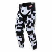 Pantalon Troy Lee Designs GP Air Maze Blanc Noir maillots pantalons