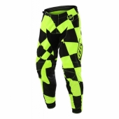 Pantalon Troy Lee Designs SE Joker Jaune Fluo Noir maillots pantalons