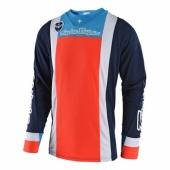 Maillot Troy Lee Designs SE Squadra Bleu Orange maillots pantalons