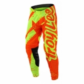 Pantalon Troy Lee Designs SE Air Shadow Jaune Orange Fluo maillots pantalons
