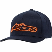 CASQUETTE ALPINESTARS BLAZE FLEX NAVY / ORANGE casquettes