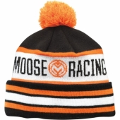 BONNET MOOSE RACING DRIFT S17  NOIR/ORANGE/BLANC bonnet