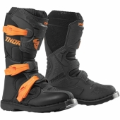BOTTES CROSS KID THOR BLITZ ORANGE/BLANC 2016 bottes kid