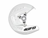 Protège-Disques Avant Ufo Blanc Husqvarna 350 FE 2014-2017 protege disque ufo