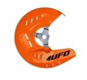 Protège-Disques Avant Ufo Orange KTM 200 EX-C 2010-2016 protege disque ufo