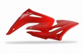Ouïes de radiateur Polisport rouge 85 CR 2003-2007 plastique polisport