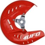 Protège-Disques Avant Ufo ROUGE HONDA 450 CR-F 2013-2016 protege disque ufo
