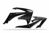 Ouïes De Radiateur Polisport Noir 250 CR-F 2010-2015 plastique polisport