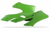 Ouïes De Radiateur Polisport Verte 125 KX 1999-2000 plastique polisport
