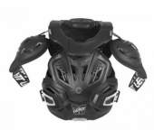 Protection intégrale Leatt Fusion 3.0 noir pare pierre