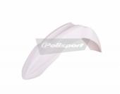 Garde-Boue Avant Polisport Blanc 450 KX-F 2013-2015 plastique polisport