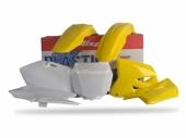 Kit plastiques Polisport couleur origine Suzuki 125 RM 2004-2009 plastique polisport