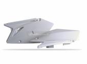 Plaques latérales Polisport blanche 450 RM-Z 2007 plastique polisport