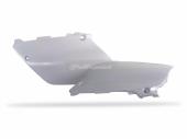 Plaques latérales Polisport blanche 125 YZ 2002-2004 plastique polisport