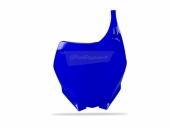 Plaque numéro frontale Polisport bleu 250 YZ 2005-2014