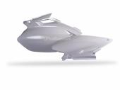Plaques latérales Polisport blanche 250 YZ-F 2003-2004 plastique polisport