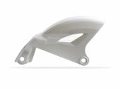 Protège disque arrière Polisport blanc 450 YZ-F 2006-2009 plastique polisport