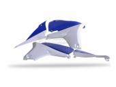 Ouïes de radiateur Polisport couleur origine 11-13 bleu/blanc 450 YZ-F 2010-2013 plastique polisport