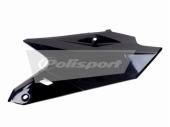 Plaques latérales Polisport noir 450 YZ-F 2014-2016 plastique polisport